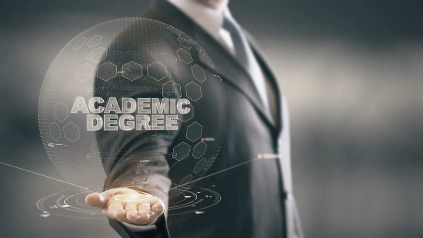 Header of academic degree