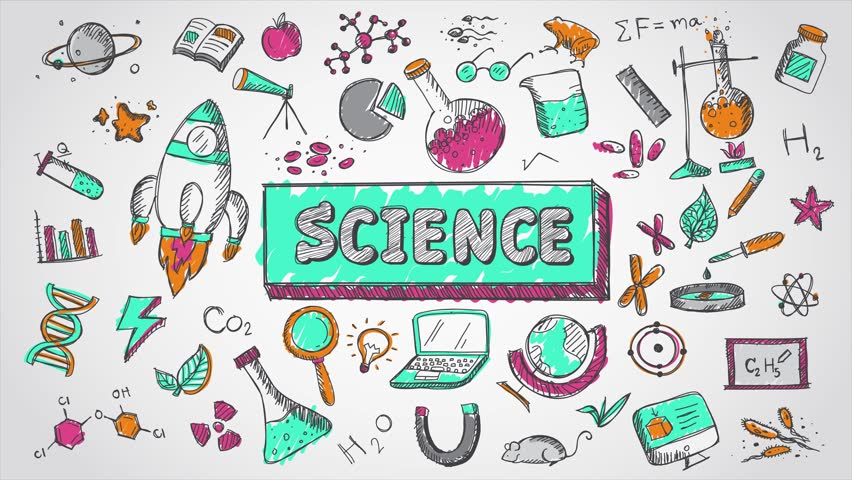Doodle Cartoon Animation of Science, Stock Footage Video (100%  Royalty-free) 27229666 | Shutterstock