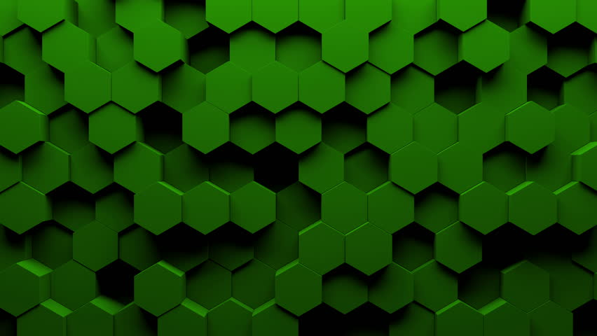 abstract hexagon geometry background  3d render of simple primitives with six angles in front