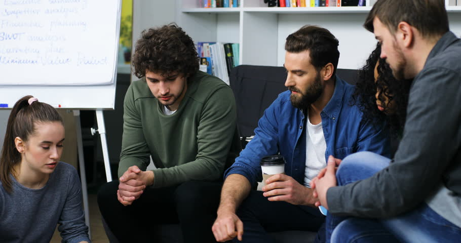 Young business team to develop new ideas for new projects in the office | Shutterstock HD Video #27337816