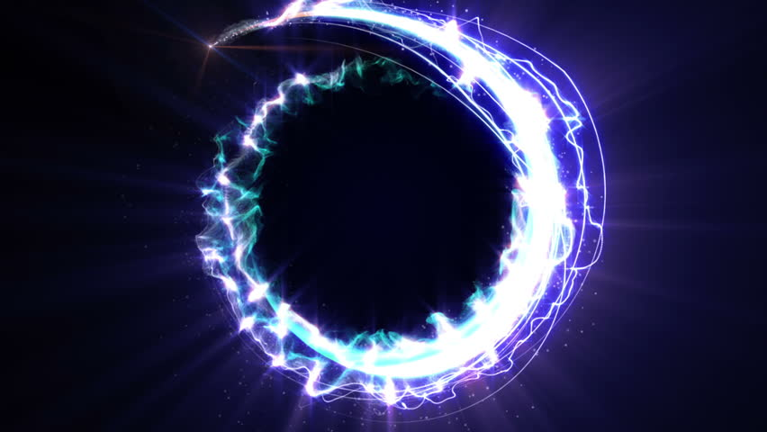 Magical Particles Ring Abstract Background, Animation, Rendering, Loop, 4k  | Shutterstock HD Video #27342886