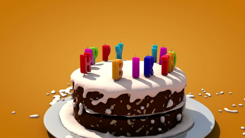Happy Birthday cake
