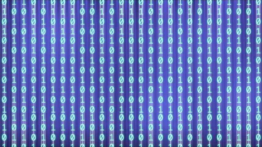 a footage of binary code