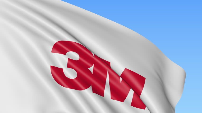 Waving Flag with 3m Company Stock Footage Video (100% Royalty-free)  27457186 | Shutterstock