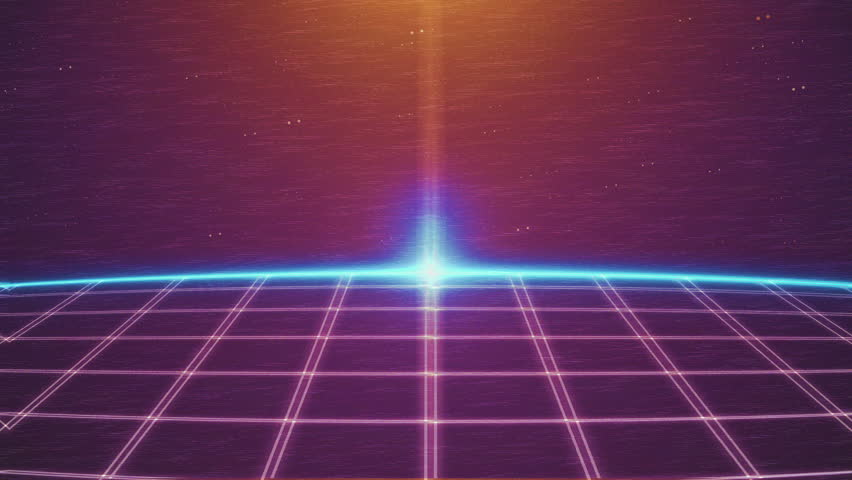 Retro 80s Style Intro,3d Geometry Stock Footage Video (100% Royalty-free)  27508306 | Shutterstock