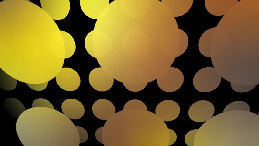 Abstract CGI motion graphics and animated background with rainbow circles | Shutterstock HD Video #2756576