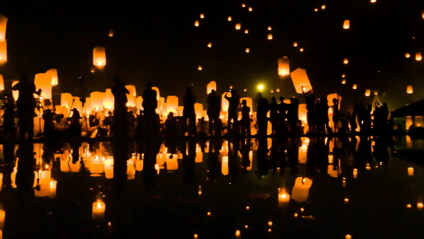 Candles and lanterns play a major role in stock video