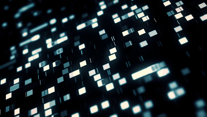 Data mining moving, abstract squares background | Shutterstock HD Video #27676936
