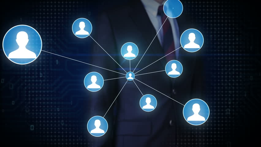 Businessman touching screen, Human icon IoT technology connect global world map. dots makes world map, internet of things. | Shutterstock HD Video #27780736
