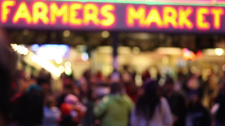 Farmers Market Crowd | Shutterstock HD Video #2783746