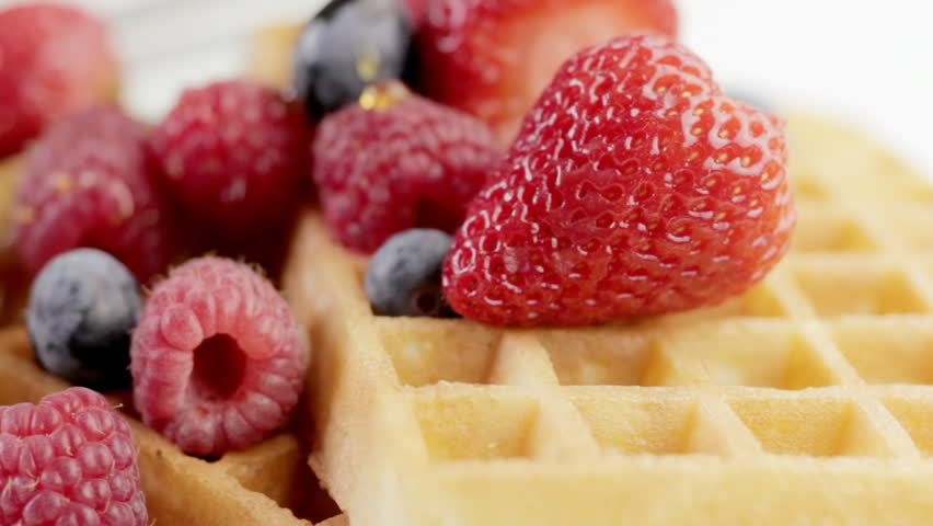 Waffles and Syrup 1