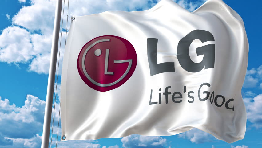 Waving Flag with Lg Logo Stock Footage Video (100% Royalty-free) 28007836 |  Shutterstock