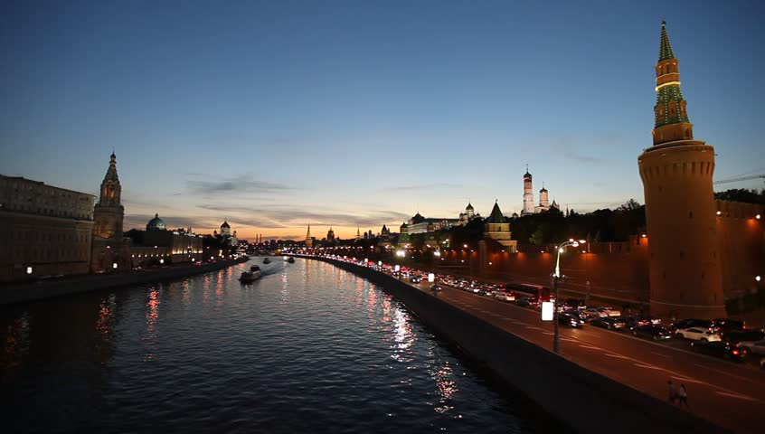 Kremlin Embankment - Embankment of the Moskva River near the Kremlin. Located between the Lenivka street and Vasilevsky descent (Red Square). The first stone embankment in Moscow.
