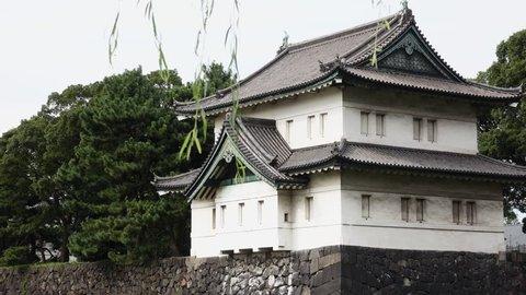 The Sakuradamon Gate at Tokyo Imperial Palace.