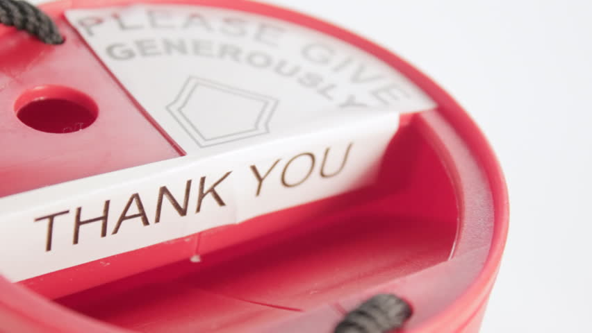 Charity Box close up
