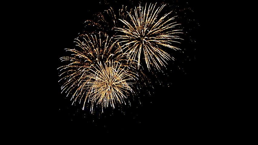 Fireworks at the Rheinfall in Schaffhausen CH | Shutterstock HD Video #28115776