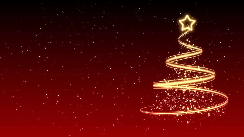 Christmas Tree Background - Merry Christmas 23 (HD) | Shutterstock HD Video #2811976