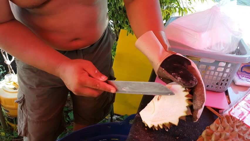 durian peelings