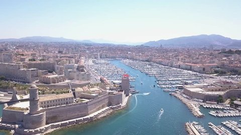 Old Port (Vieux Port)  Marseille, France