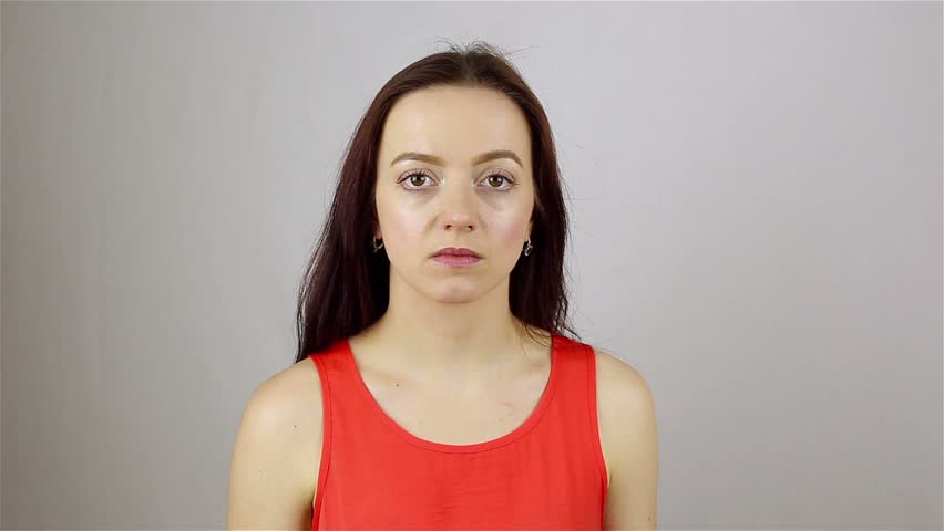 Beautiful young woman wants to sleep | Shutterstock HD Video #28315066