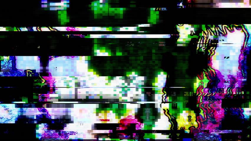 Data Glitch 025: Streaming video break down (Loop). | Shutterstock HD Video #28341166