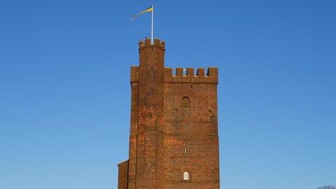 """Medieval tower """"Karnan"""" in Helsingborg, Scania, in southern Sweden"""