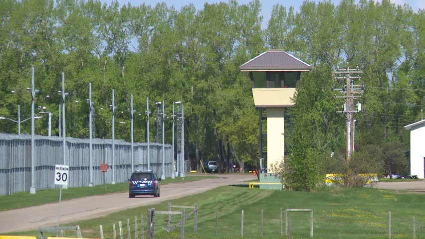 Crime and justice, prison watchtower