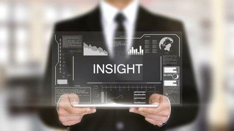 Insight, Hologram Futuristic Interface, Augmented Virtual Reality