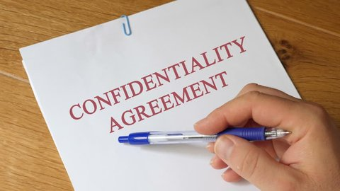 Review of Confidentiality Agreement