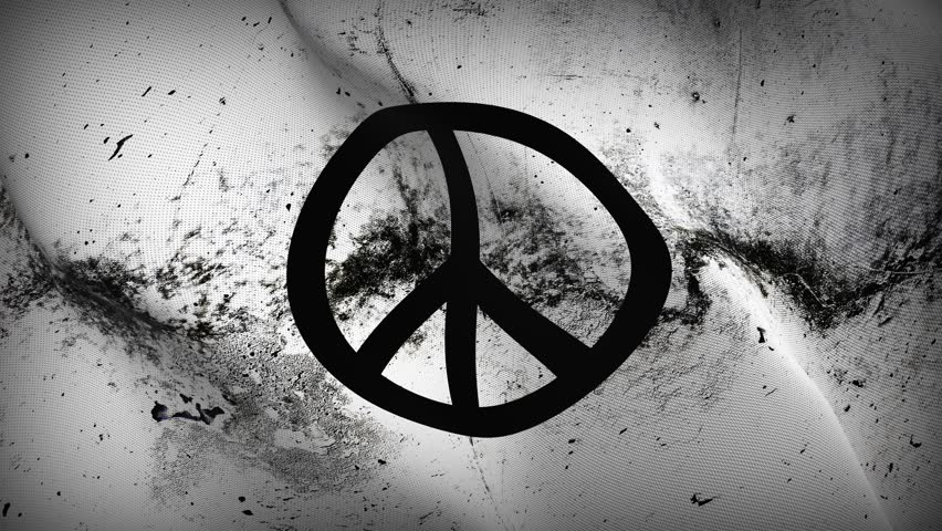 Stock Video Of Anarchy Logo Symbol Grunge Flag Waving 28869916