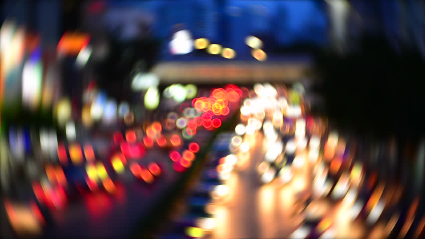 Blurred Background Bokeh from car light  | Shutterstock HD Video #28775416