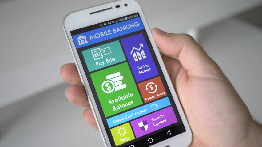 Using a Mobile Banking App Stock Footage Video (100% Royalty-free) 28802566    Shutterstock