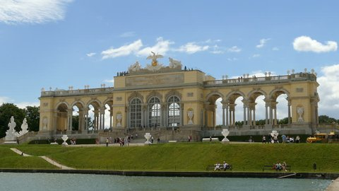 Gloriette at Schonbrunn Palace, Vienna