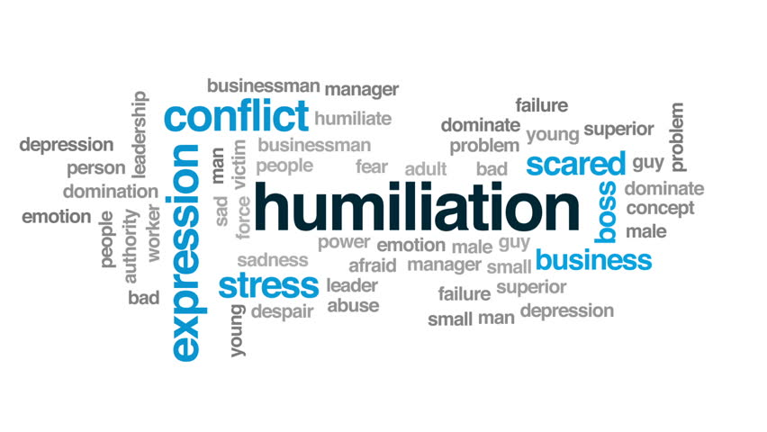 Header of humiliation