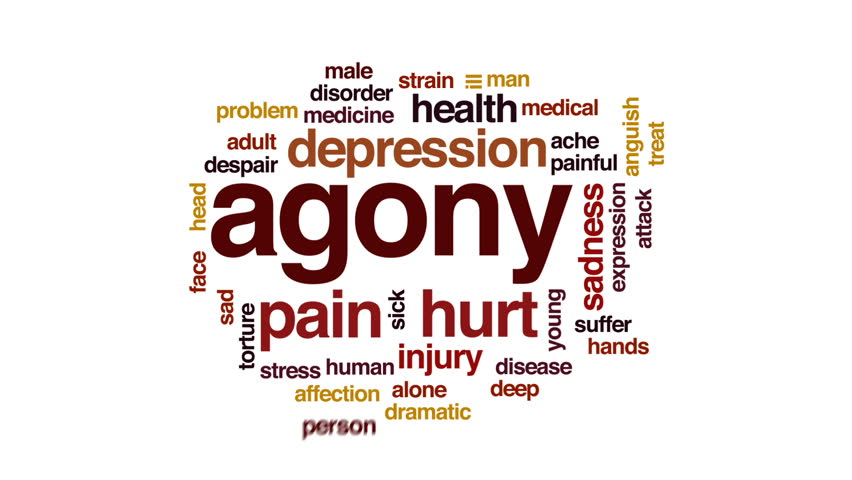 Header of agony