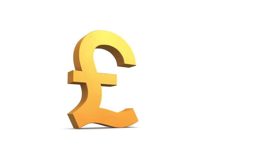 Broken Pound Symbol Stock Footage Video 2915689 Shutterstock