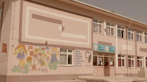 A Village School in Tokat, Turkey