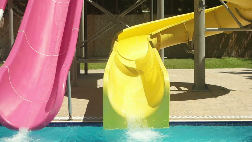 Teen girl waterslide — photo 6