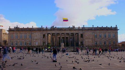 Bogota Plaza Bolivar, Colombia