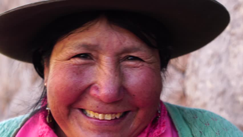 Peruvian traditional woman (Quechua lady) in the street | Shutterstock HD Video #29474566