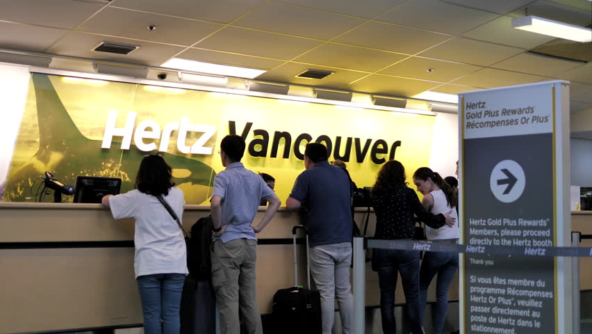 Hertz gold vancouver airport