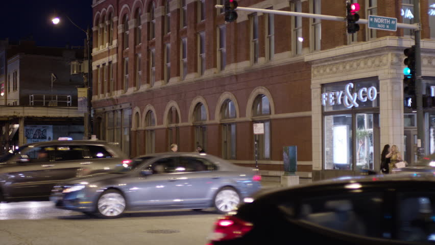 Night 4 story red brick building office building lofts apartment building   arched windows There anDusk  Magic Hour Across Entrance Corner White Stone Brick Ornate  . Brick Apartment Building Entrance. Home Design Ideas
