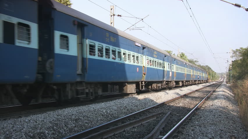 Indian Railways Passenger Train Stock Footage Video (100% Royalty-free)  29705236 | Shutterstock