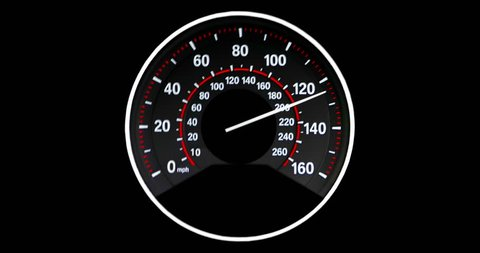 Speedometer going to max speed through the gears and limiting at 160mph, Vibrating as it get faster.