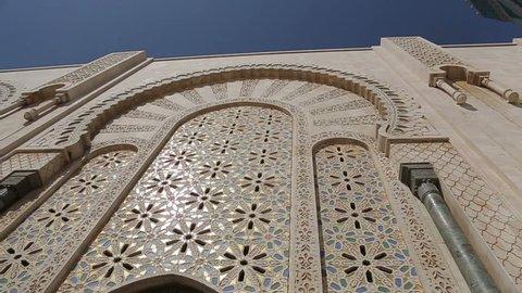 MOROCCO, ??Casablanca - JULE 20:  Hassan II mosque Jule 20, 2012 in Morocco, Casablanca.