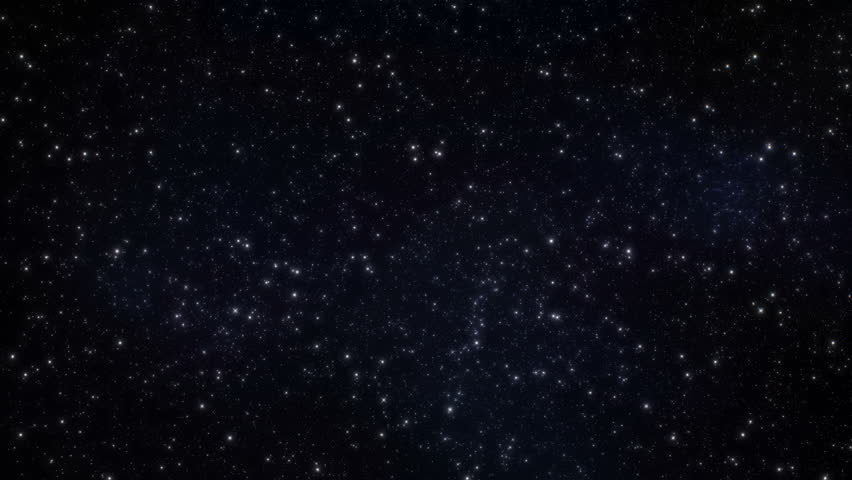Starfield - Stars Universe FlyBy Video Background Loop /// A highly detailed look at sprinkling stars gently passing by. Looks best in 4k resolution.