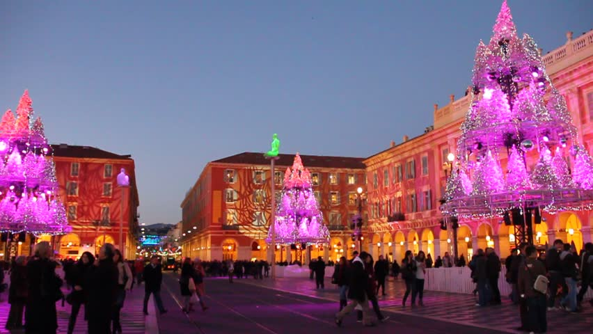 Nice December 20, 2011. Christmas Stock Footage Video (100% Royalty ...