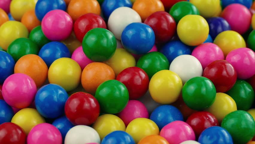 Pile Of Gumballs Closeup