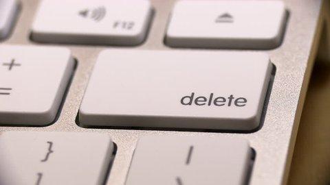Delete Key - Close Up