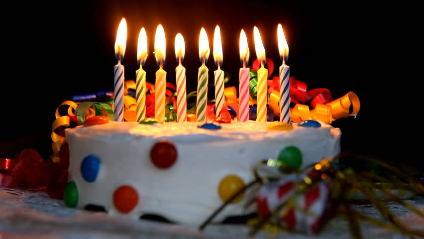 Time Lapse Burning Birthday Cake Stock Footage Video (100% Royalty-free) 301876 | Shutterstock